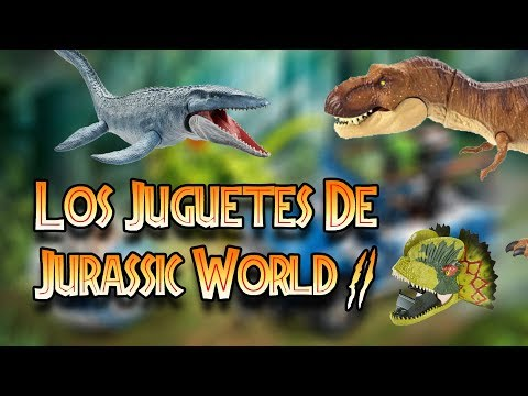 JUGUETES REVELADOS DE JURASSIC WORLD FALLEN KINGDOM (MI OPINIÓN)