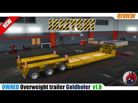 Ownable overweight trailer Goldhofer v 1 4 1 | Allmods net