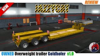 "[""BEAST"", ""Review"", ""Let's Play"", ""EuroTruckSimulator2"", ""ETS2"", ""ETS2ModReview"", ""ETS2ModsReview"", ""DLCBeyondTheBalticSea"", ""Ownable overweight trailer Goldhofer"", ""JAZZYCAT""]"