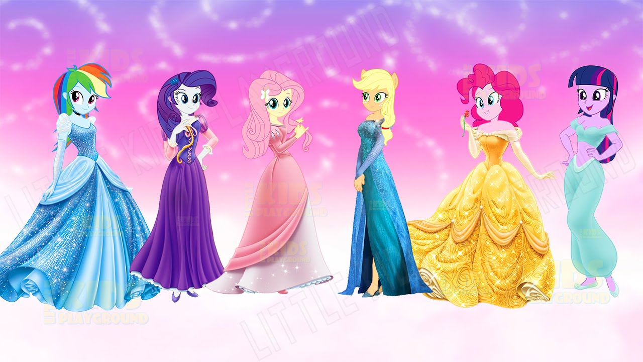 Cute Rainbow Dash Wallpaper My Little Pony Transforms Into Disney Princesses Elsa