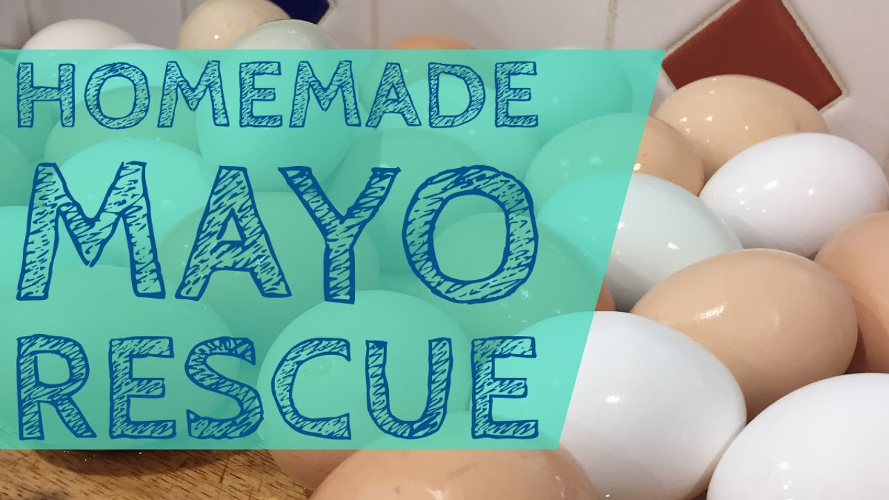 Homemade Mayo Tutorial & Fixing Failed Attempts - YouTube