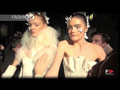 ALEXIS MABILLE Haute Couture Backstage SS 2014 Paris - Fashion Channel