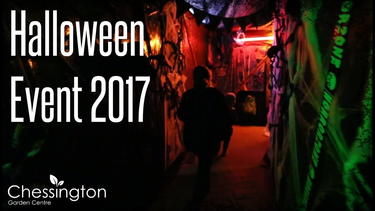 Halloween Events At Chessington Garden Centre 2017 Youtube