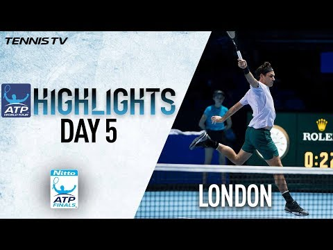 Highlights: Federer Progresses Unbeaten As Sock Downs Zverev Nitto ATP Finals Round Robin
