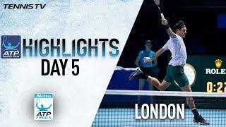 Highlights: Federer Progresses Unbeaten As Sock Downs Zverev Nitto ATP Finals Round Robin