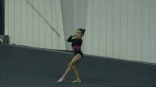 Lizzy 8 Year Old 1st Level 7 Floor Routine
