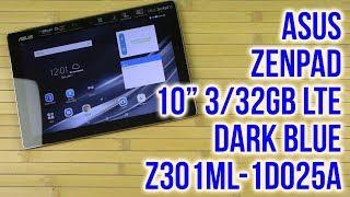Розпакування Asus ZenPad 10'' 3/32GB LTE Dark Blue Z301ML-1D025A