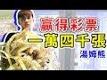 超過一萬四千張彩票!連續中超級大獎,湯姆熊 Feat.BoBoTV【黃氏兄弟】
