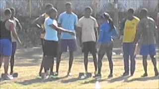 MVP Morning Practice In Jamaica Featuring Shelly-Ann Fraser-Pryce And Nesta Carter