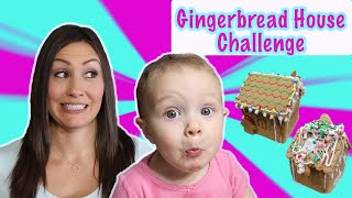 GINGERBREAD House Challenge - $$$ SURPRISE - KJAR Crew