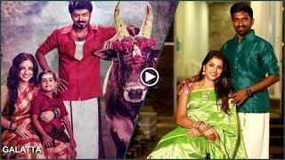 Dharan & Deekshithas Thala Diwali with Thalapathys Mersal | Galatta Exclusive