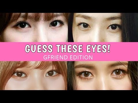[GAME] Can You Guess GFriend's Eyes?
