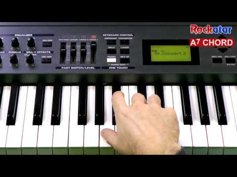 A7 chord on Keyboard