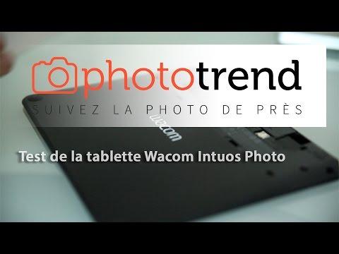 Test de la tablette graphique Wacom Intuos Photo
