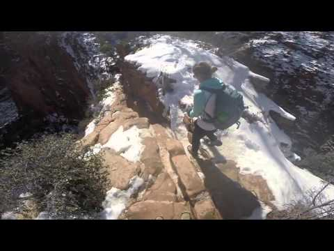 Angels Landing  - Winter Hiking