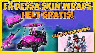 GET THESE SKIN WRAPS COMPLETELY FREE & SUPPORT ME AT THE SAME TIME | FORTNITE IN ENGLISH