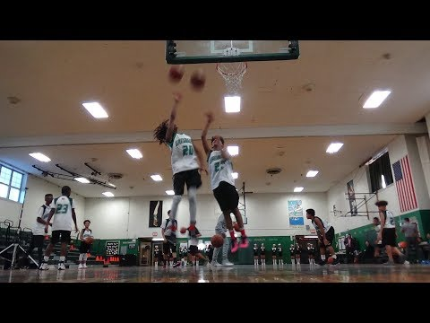 Brentwood North 12/13/2017 Section XI Boys Basketball  vs Great Hollow Blue