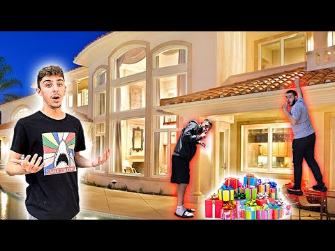 We Snuck Into FaZe Rug's House On His Birthday & SURPRISED HIM WITH THIS...