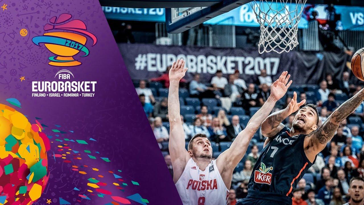 Poland v France - Full Game - FIBA EuroBasket 2017