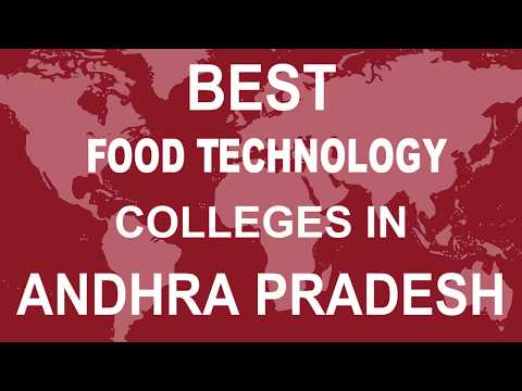 Best Food Technology Colleges in Andhra Pradesh