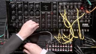 KORG MS20M Kit & KORG SQ1 par Olivier Briand (La Boite Noire)