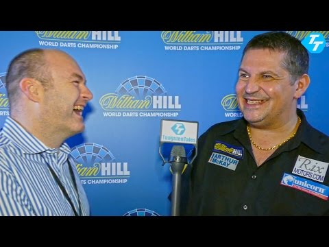 Gary Anderson World Champion 2015 Exclusive One to One Interview