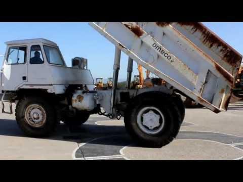 Perlini DP 255 rigid Dump truck.MOV