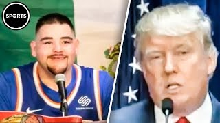 Andy Ruiz EPICALLY Demolishes Donald Trump