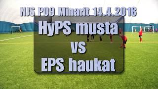 NJS P09 Minarit 14 4 HyPS musta vs EPS haukat