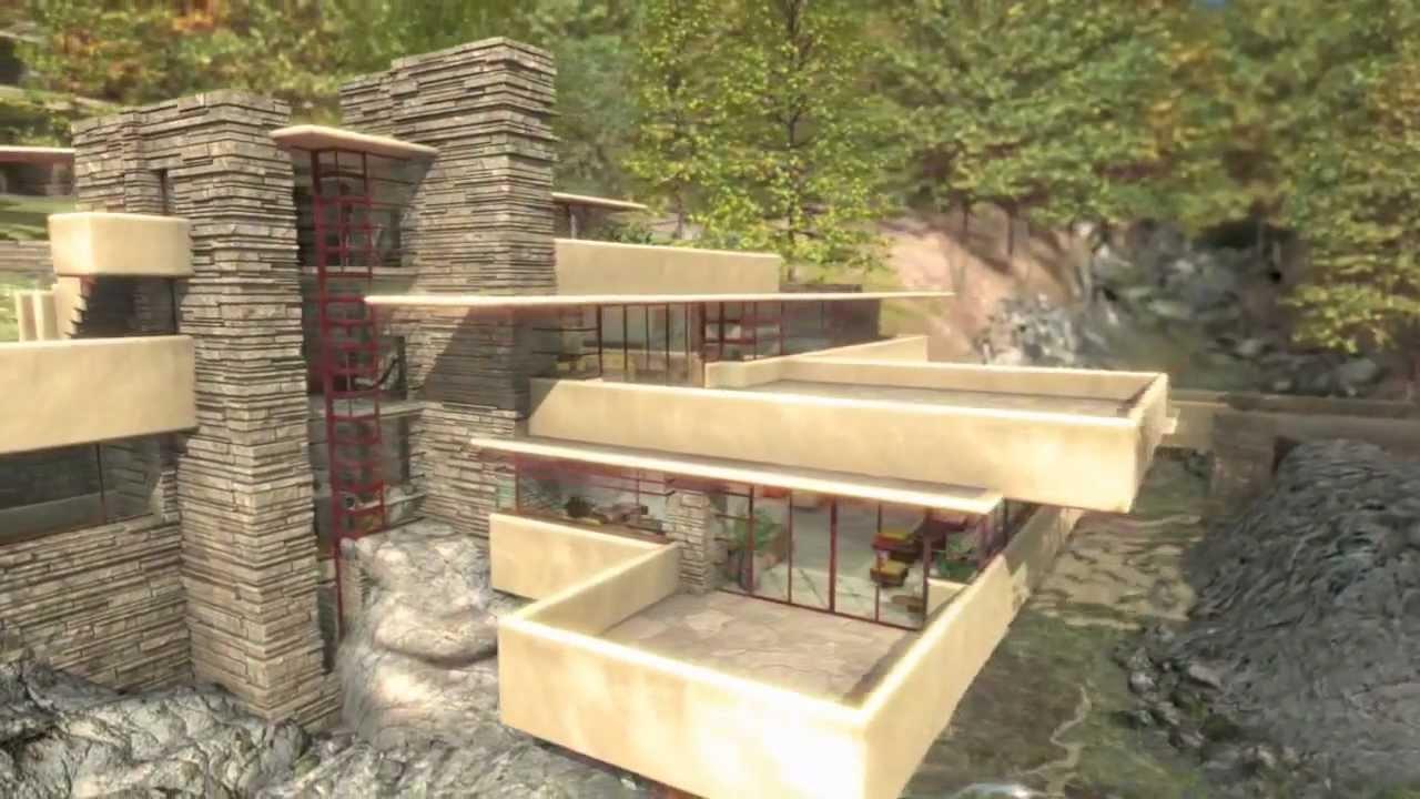 Frank lloyd wright fallingwater la casa sulla cascata for Architettura wright