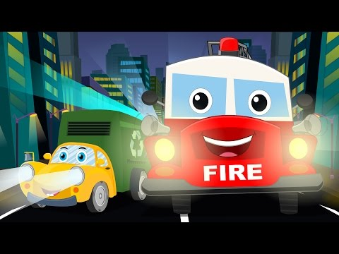 Ralph and rocky | We are the trucks | Vehicles songs for children