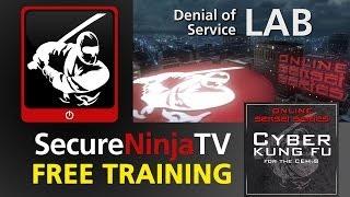 SecureNinjaTV Cyber Kung Fu Mod 10 LAB Denial of Service