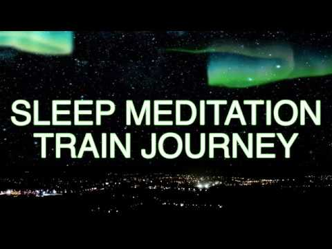 Guided Meditation | Train Journey For Peaceful Relaxation & Sleep Hypnosis