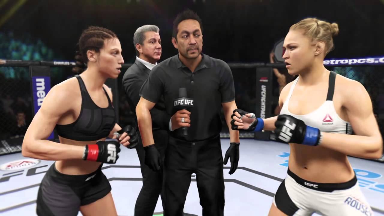 EA UFC 2 - Fight Now - Ronda Rousey vs Joanna Jedrzejczyk