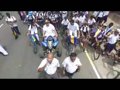 Royal College Cycle Parade 2016 from the Skies