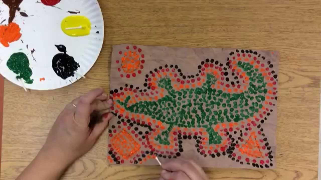 Aboriginal Dot Paintings 2 0 Youtube