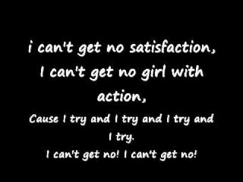 rolling stones- satisfaction with lyrics