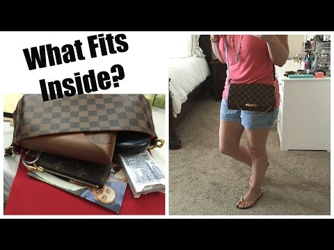 Louis Vuitton Favorite MM Review + What Fits Inside?