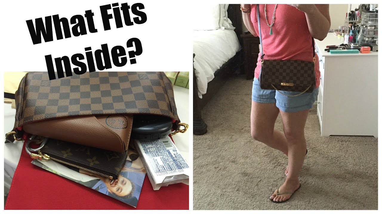 04ccfb9c28d7 Louis Vuitton Favorite MM Review + What Fits Inside  - YouTube