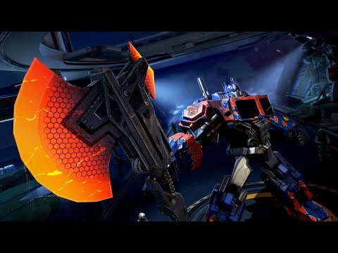 Optimus Prime Burning Soul Vs Gold Sword Escort Gameplay - Transformers Online 2019