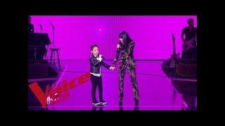 Maître Gims - Est-ce que tu m'aimes  | Jenifer et Natihei | The Voice Kids France 2019 | Finale