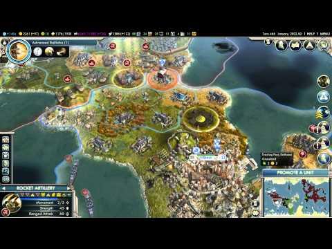 Civilization V - Episode 18 - Vanquishing Alexander, Massing Against Huns