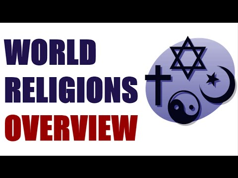 World Religions Overview YouTube - World religions explained