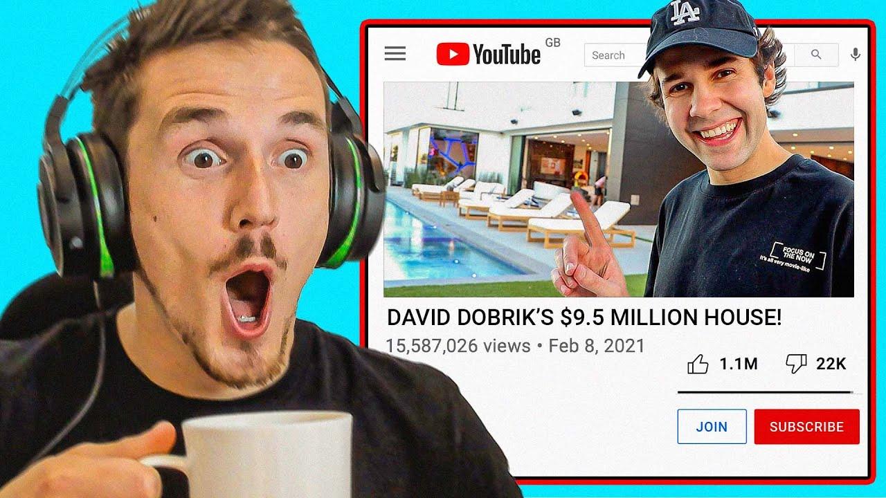 Syndicate Reacts to David Dobriks INSANE $9.5M House!