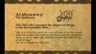 Names of Allah - Al Musawwir