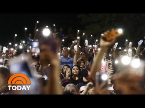 El Paso Holds Vigil For Victims As Stories Of Heroism, Tragedy Emerge   TODAY