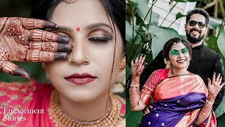 Kerala Engagement Stories 2021 | Nimitha & John