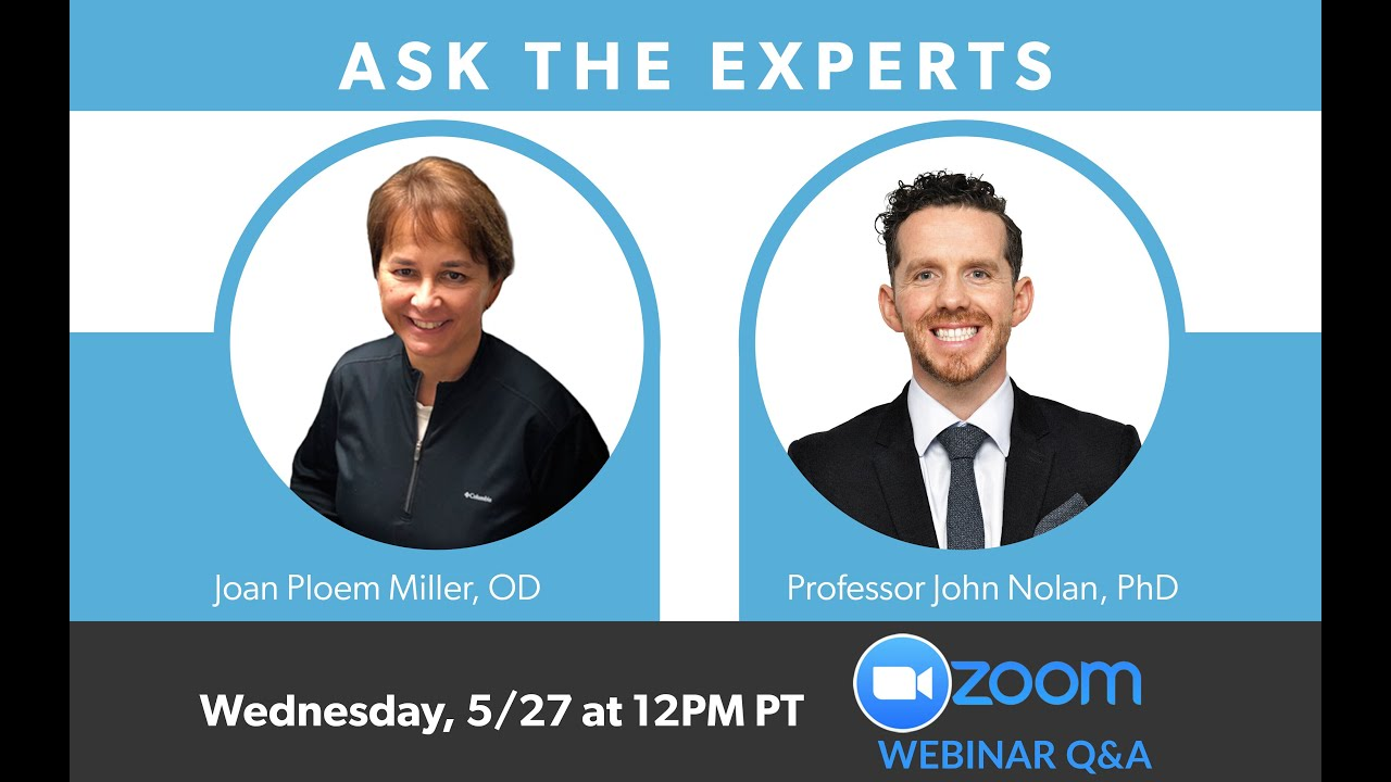 MacuHealth Webinar Series: Ask The Experts