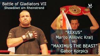 "Battle VII - ""REXUS""  Marijo Alilovic Kralj vs. Gabor Korpics"