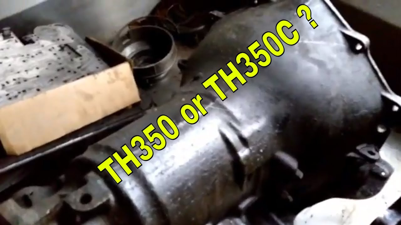 How To Th350 Pump Id Lockup Or Non-lockup